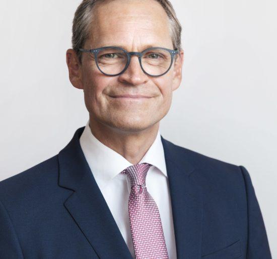 Schirmherr Michael Müller
